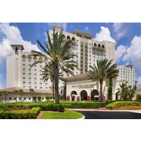 The ChampionsGate resort offers more than 700 guest rooms and suites, plus multi-rooom villas.