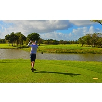 "Okeeheelee means ""quiet waters"" in the Seminole language, and you'll certainly find plenty of water at this popular golf course."