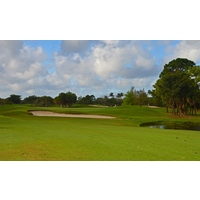 The first hole on the Heron nine at Okeeheelee Golf Course is a not-so-easy par 5.