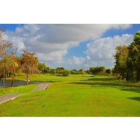 The fourth hole at Okeeheelee Golf Course's Heron nine is a 437-yard par 4.