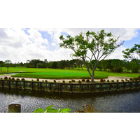 A signature hole candidate is the par-5 first on the Eagle nine at Okeeheelee Golf Course in West Palm Beach, Fla.