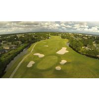 No. 16 at Tiger Point Golf Club in Gulf Breeze, Florida.