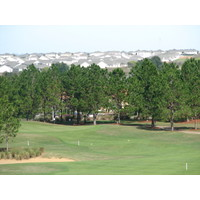 Highlands Reserve Golf Club sits on top of what is essentially a big sand hill, affording views over the Orlando area.